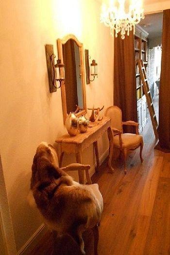 Wandtafel plus twee stoelen zonder leuning Orléans!